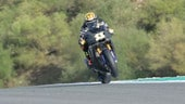 "SBK test Jerez: Cortese ""vola"" con la Yamaha - VIDEO"