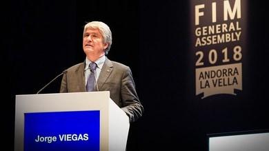 Jorge Viegas eletto presidente della FIM