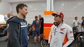 MotoGP: le foto inedite di Lorenzo al box Honda
