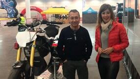 Video-Intervista: Loris Reggiani e la pitbike elettrica al MBE