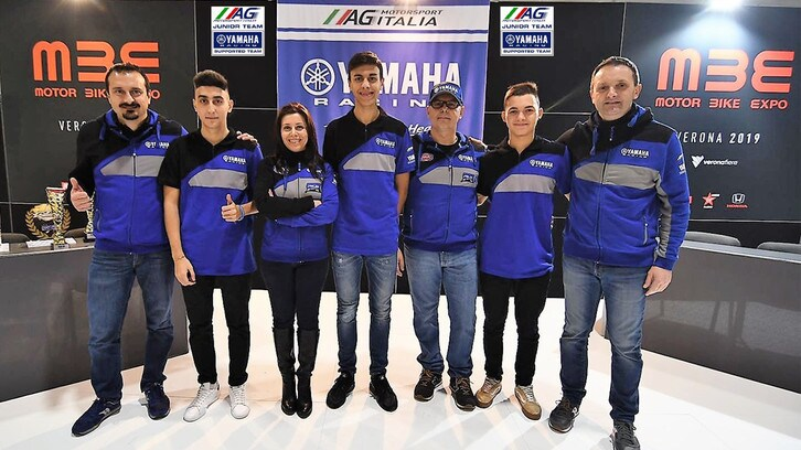 CIV: il Junior Team Yamaha AG