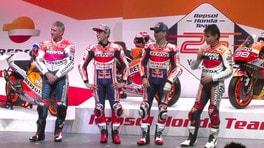 MotoGP: Honda svela le moto di Marquez e Lorenzo