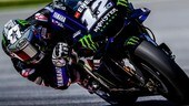 Vinales al top fa sorridere Rossi e la Yamaha