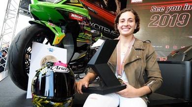 Ana Carrasco punta a vincere in MotoGP