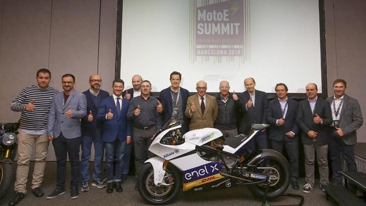 MotoE: summit in vista della partenza
