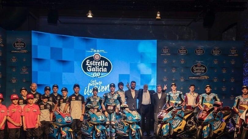 Estrella Galicia presenta il nuovo team e punta al titolo Moto2