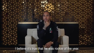 Hamilton all'esame sulla MotoGP - VIDEO