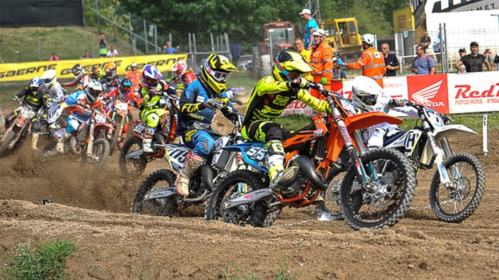 Motocross: piccoli campioni crescono