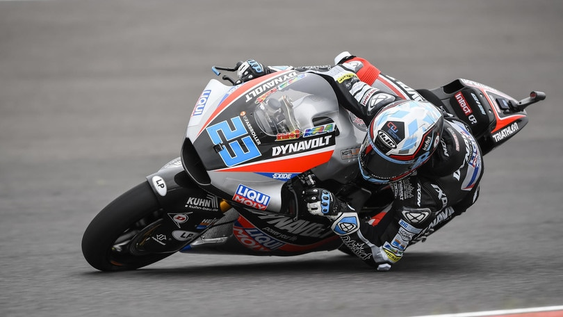 Moto2 Americhe: vince Luthi, Baldassarri k.o