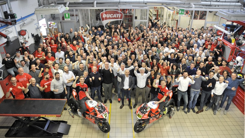 Ducati in festa per le 350 vittorie in Superbike