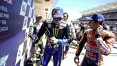 Motore Triumph Moto2: Rossi e Marquez d'accordo sulle sue qualità