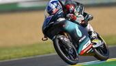 Qualifiche Moto3 Le Mans: pole di Mcphee su Arbolino
