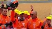 Rins dal cuore d'oro, regala il casco alla famiglia del marshal scomparso