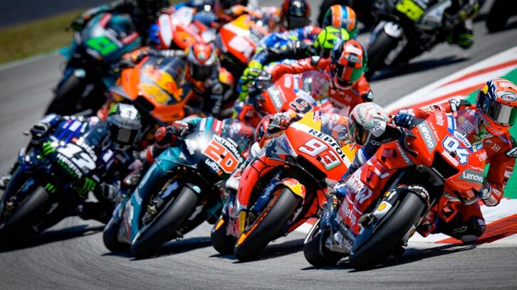 MotoGP test Barcellona: Rins leader della mattina