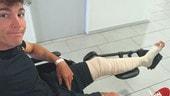 MotoGP: frattura del femore per Aleix Espargarò
