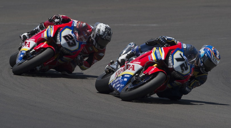SBK Misano: Camier ancora out, torna Takahashi