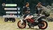 Motosprint The Test di Riccardo Piergentili: KTM Duke 125 e Duke 390