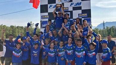 Motocross: la Maglia Azzurra vince il Trofeo Giovanile Francia-Italia