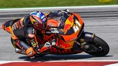 Moto2 gara: capolavoro Binder, disastro italiano