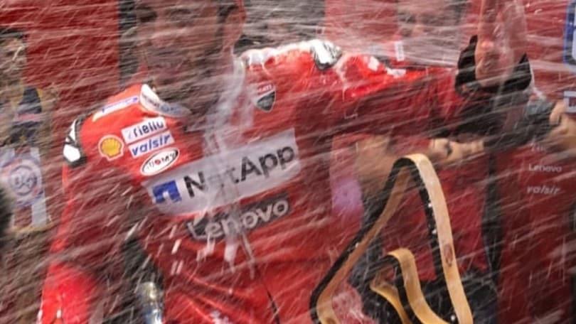 Dovi e Ducati, festeggiamenti da urlo al Red Bull Ring