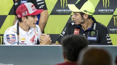 """Marquez il campione di tutti i tempi? """"No"""", il migliore è Rossi"""
