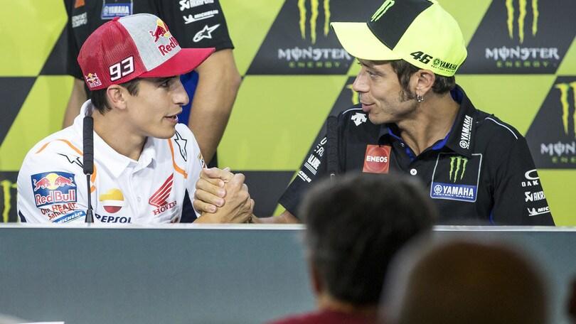 MotoGp, Rossi: ''Avere figli? Ci vuole donna giusta e forse l'ho trovata''