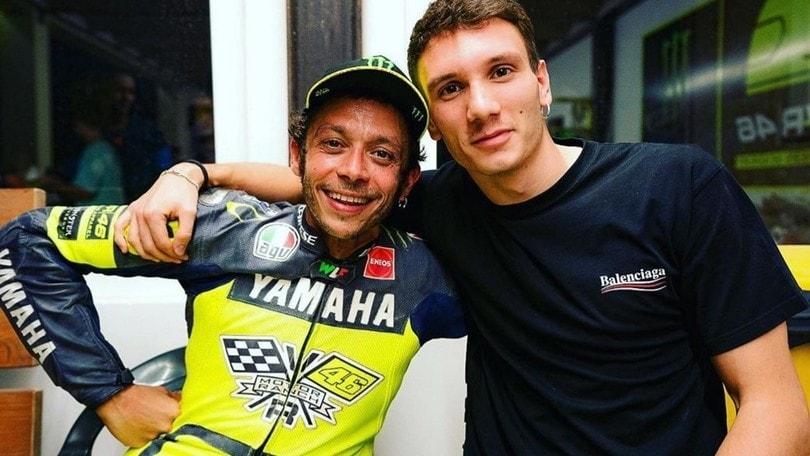 Un giovane (e sfortunato) campione ospite del Ranch di Valentino Rossi