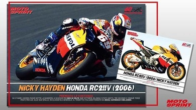 Poster Story, 3° uscita: in edicola la Honda RC211V di Nicky Hayden