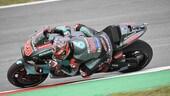 MotoGP, prove libere: Quartararo prima giro cancellato poi il più veloce