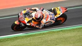 Motogp, qualifiche Silverstone: Marquez poleman davanti a Valentino Rossi
