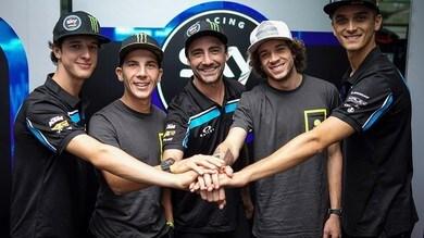 Sky Racing Team VR46: nel 2020 al via ancora con quattro piloti italiani