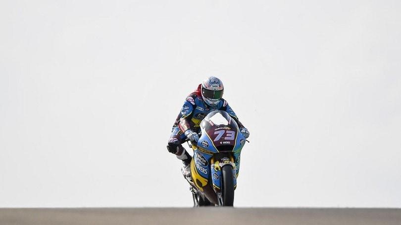Moto2 Aragon, Alex Marquez imita Marc: la pole è sua
