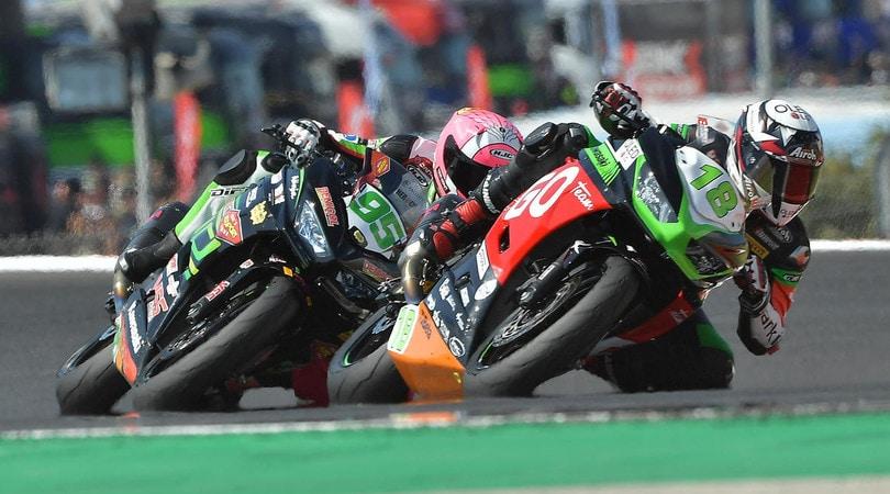 Supersport 300: a Magny Cours in tre per il titolo