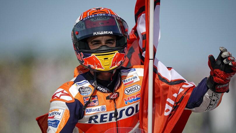 Marc Marquez si prende tutto: gara e titolo mondiale