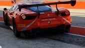 Valentino Rossi di nuovo su una Ferrari - LE FOTO