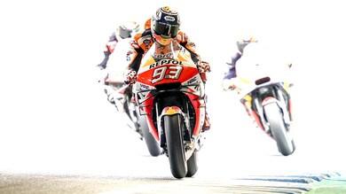 MotoGP, qualifiche Giappone: Marquez al comando davanti a Morbidelli