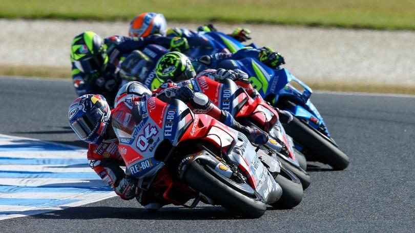 MotoGP Phillip Island: gli orari TV