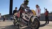 Crutchlow in sella alla NSR500 di Eddie Lawson - FOTO