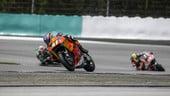 Moto2 Valencia, dietro ad Alex Marquez c'è ancora molto traffico