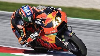 Moto2: Valencia, Binder record fa suo il venerdì