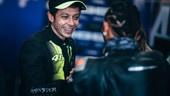 Lewis Hamilton e Valentino Rossi: le immagini