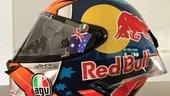 Incendi in Australia: Miller mette all'asta il suo casco per raccogliere fondi