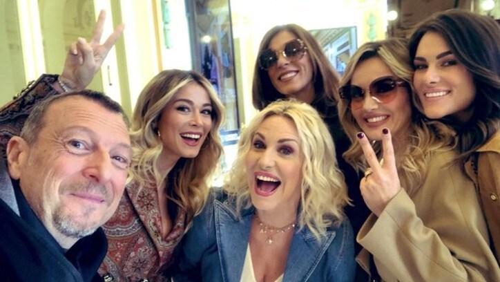 Ufficiale: la fidanzata di Valentino Rossi a Sanremo 2020