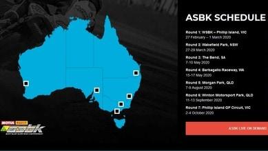 ASBK: ecco il calendario 2020 della superbike australiana