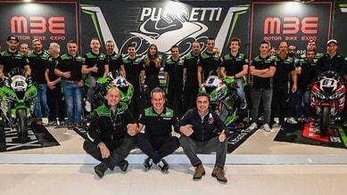 Il team Puccetti pronto a partire con Fores, Mahias, Oettl e Oncu