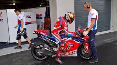 MotoGP: Stefan Bradl in pista a Jerez con la nuova Honda