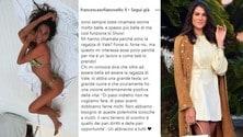 La fidanzata di Rossi risponde alle polemiche su Sanremo 2020 - FOTO