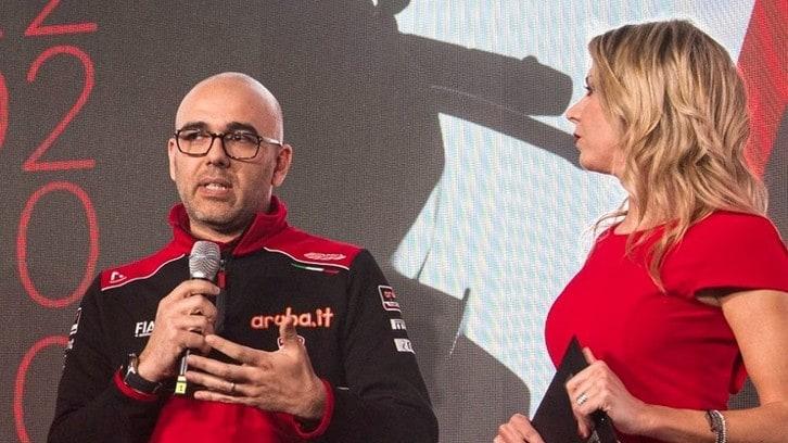 """Ducati SBK, Cecconi: """"Vogliamo vincere il titolo"""""""