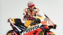 Honda MotoGP: Marc Marquez con la sua RC213V 2020 - FOTO