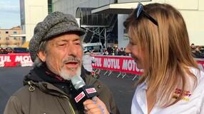 """Lucchinelli: """"Se andassi forte come Rossi tornerei a correre"""" VIDEO"""